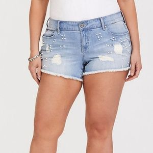 EUC TORRID Pearl Shorts